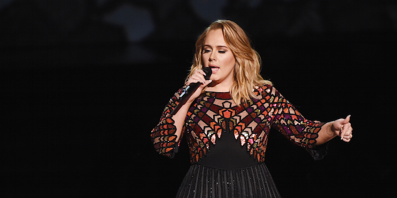 Adele Takes Over The Grammys Once Again