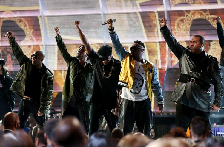 A Tribe Called Quest Disses Donald Trump At The Grammys