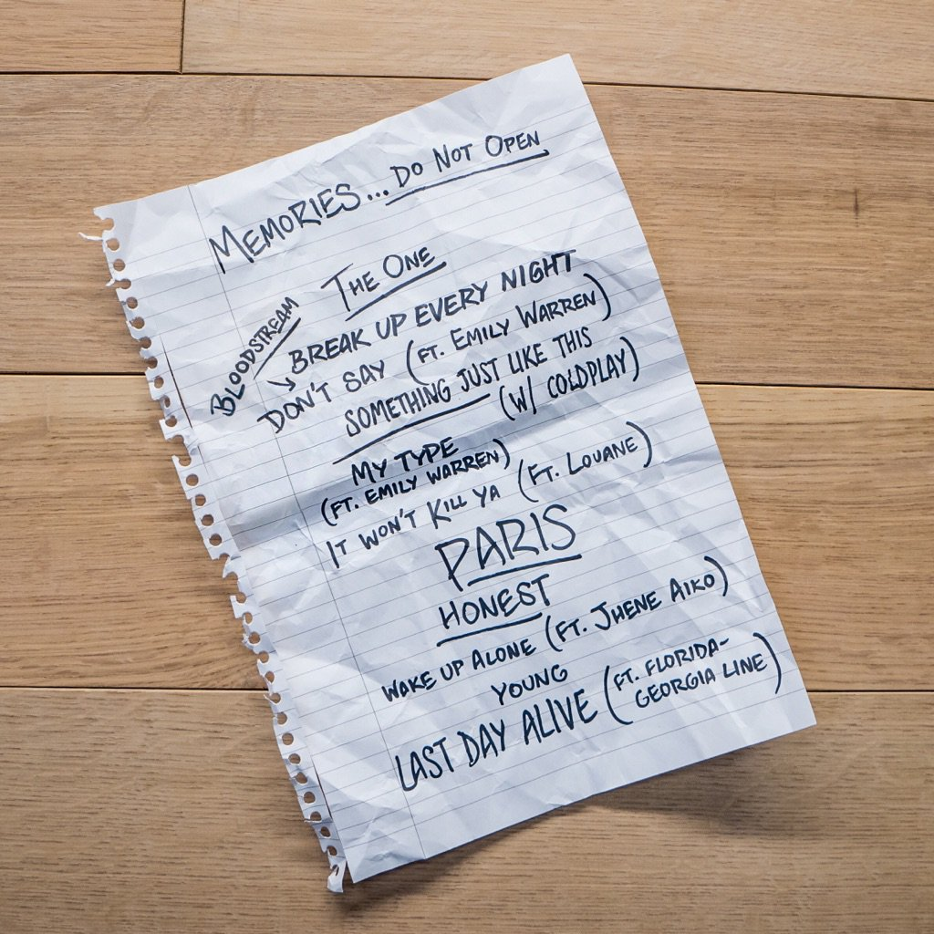 The Chainsmokers Present Entire Album Tracklist